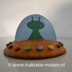 Afbeelding van de traktatie Eierkoek UFO