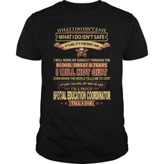 I Will Not Quit, I'm A Proud Special Education Coordinator Till I Die T-Shirt, Hoodie Special Education Coordinator