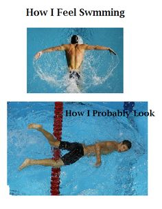 Swimming, swimming funny, Michael phelps