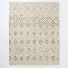 Prism Wool Rug - Soot #westelm