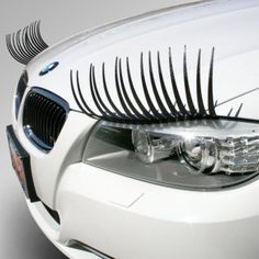 Who says your ride can't be haute too?  *bats eyelashes*