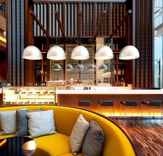 The exquisite hotel impresses on many levels, here you have one, lounge bar