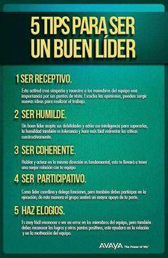 5 Tips Para Ser Un Buen Líder