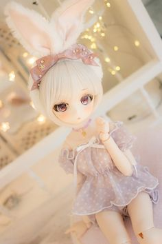 15 Trendy Ideas For Doll Anime Pullip Beautiful Barbie Dolls, Pretty Dolls, Ooak Dolls, Blythe Dolls, Kawaii Doll, Kawaii Anime, Anime Figurines, Dream Doll, Anime Dolls