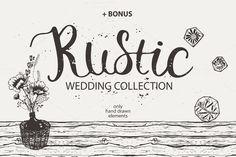RUSTIC wedding collection by OlgaAlekseenko on Creative Market