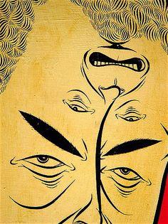 barry mcgee Graffiti Styles, Graffiti Art, Barry Mcgee, Poster Photography, Graffiti Characters, Arte Popular, Pop Surrealism, Weird Art, Margaret Kilgallen