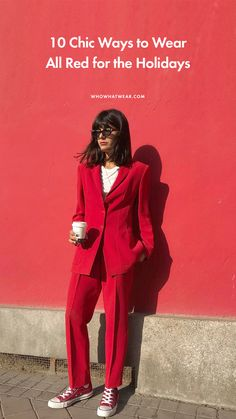 10 all-red outfits to get you through the holidays