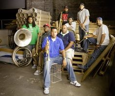 The Soul Rebels - Playing at Village Underground, London, on Saturday 11 May