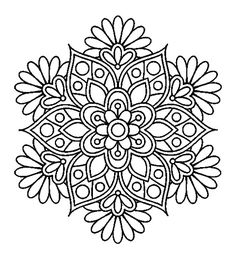 Easy Flower Mandala Coloring Pages. 30 Easy Flower Mandala Coloring Pages. Coloring Books Printable Mandalas Coloring Pages for Mandalas Painting, Mandalas Drawing, Mandala Coloring Pages, Coloring Book Pages, Dot Painting, Printable Coloring Pages, Coloring Sheets, Zentangles, Kids Coloring
