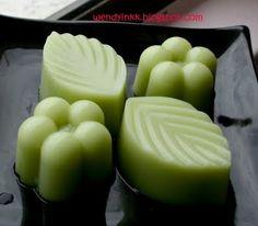 Pandan Coconut Jelly