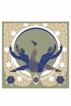 Contemporary Kamasutra illustrations by Design Temple