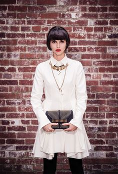 Our Lulu Frost looks great in this neo-victorian photo shoot