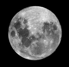 Full Moon. Be sure to click through the image to see it at full resolution.