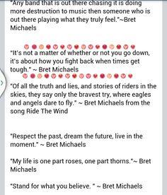 Bret quotes