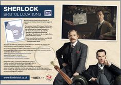 Track down Sherlock's Bristol with a new locations map #Sherlock