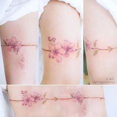 45+ Gorgeous Floral Tattoos Women Would Love To Get Inked