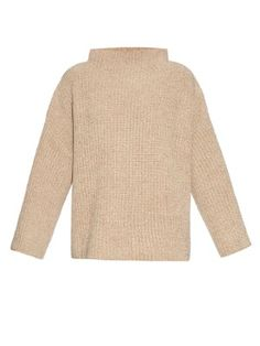 Kaila silk and cotton-blend ribbed-knit sweater  | The Row | MATCHESFASHION.COM US