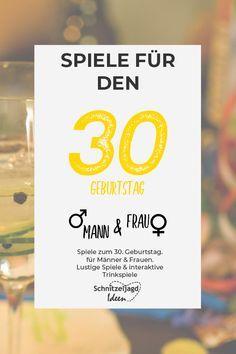 Spiele Zum 30 Geburtstag Spiele Geburtstag 30 Geburtstag Mann