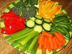 How To Make A Killer Vegetable Platter