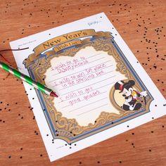 Mickey's New Year Wish List