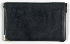Charles Prendergast's Wallet at Williams College Museum of Art, Prendergast Archive and Study Center