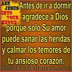 Tu eres mi sanador Jesús!!