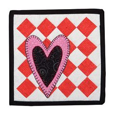Itty Bitty February Heart Pattern Download