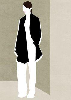 Illustration Mathilde Crétier -2015 Flower Illustrations, Fashion Illustration Sketches, Illustration Mode, People Illustration, Fashion Sketchbook, Illustrations And Posters, Affinity Designer, Photoshop, Modern Artists