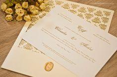 Noiva com Classe: Convites de Casamento Clássico Elegante Sofisticado: modelos