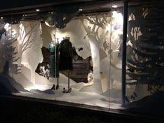 Anthropologie holiday display: windows on risd portfolios vm Winter Window Display, Window Display Design, Store Window Displays, Display Windows, Retail Windows, Store Windows, Design Presentation, Window Art, Window Ideas