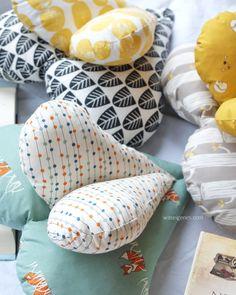 Leseherz | Herzkissen | Nähanleitung | Schnittmuster | tutorial | sewing | pillow | DIY | sewing pattern | © www.waseigenes.com