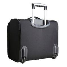 NCAA Appalachian State Mountaineers Mojo Wheeled Laptop Overnighter Bag