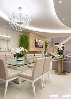 Navegue por fotos de Salas de jantar modernas bege: . Veja fotos com as melhores ideias e inspirações para criar uma casa perfeita.
