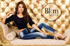 Catalina Valencia at BKM Jeans