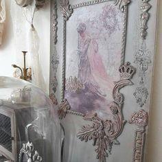 Bekijk dit items in mijn Etsy shop https://www.etsy.com/nl/listing/540547220/wand-decoratie-paneel-met-ornamenten