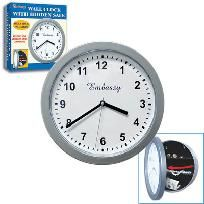 Wall Clock Safe for Jewelry Money Credit Cards. Keep valuables safe. Buy Now.