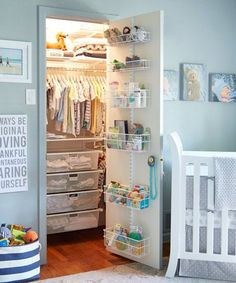 Tips for Baby's Closet