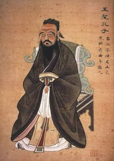 Ancient Chinese Religion - Ancient China for kids Confucius Say, Confucius Quotes, Famous Philosophers, Teacher Created Materials, France Culture, Empire Romain, The Han Dynasty, Qin Dynasty, Les Religions