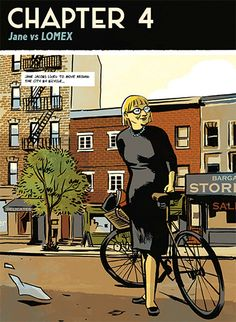 How New York Became New York: A Love Letter to Jane Jacobs, Tucked Inside a Graphic Biography of Robert Moses Jane Jacobs, Free Park, Modern Metropolis, Lower Manhattan, Urban Planning, New York City, Comic Books, Comics, Architecture