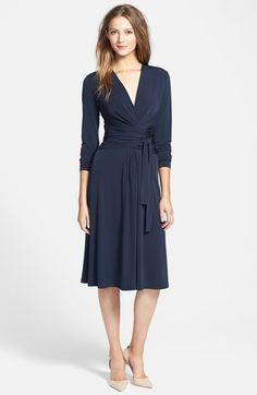 MICHAEL Michael Kors Faux Wrap Jersey Dress | Nordstrom