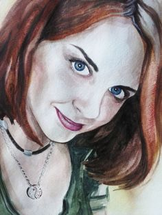 Люблю себя... Балую) Акварель.Формат А3 #thewatercolordrawing #drawing #portrait…