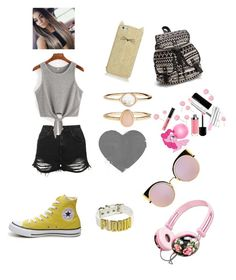Untitled #6 by mariaalexandra-cdiv on Polyvore featuring Topshop, Converse, NLY Accessories, Accessorize, Kate Spade and Fendi