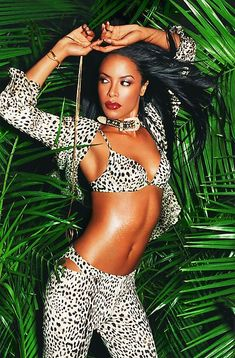 Aaliyah photograhped by David LaChapelle
