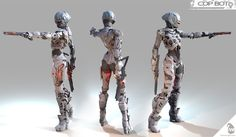 COP_BOT by Mario Anger | Robotic/Cyborg | 3D | CGSociety