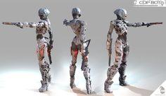 COP_BOT by Mario Anger | Robotic/Cyborg | 3D | CGSociety