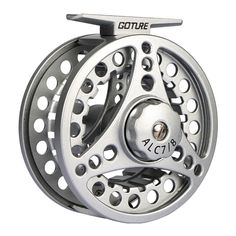 Goture Fly Fishing Reel ALC 5/6,7/8,9/11 Aluminum Frame Spool Left Right Hand Die Casting Fly Reel Ice Reel For Fishing
