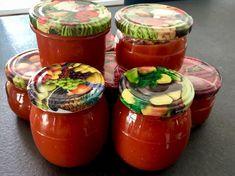 Słoki z sosem z cukinii Ketchup, Salsa, Good Food, Spices, Food And Drink, Favorite Recipes, Jar, Stuffed Peppers, Treats