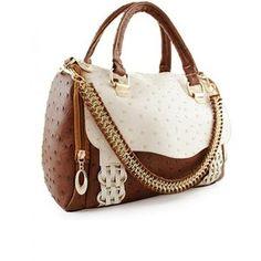 Brown Messenger Shoulder Bag