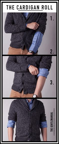 5 Ways to Roll Your Sleeves