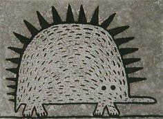 Young Echidna by Dean Bowen Drawing For Kids, Art For Kids, Echidna, Australian Animals, Kids Artwork, Aboriginal Art, Teaching Art, Book Illustration, Art Forms